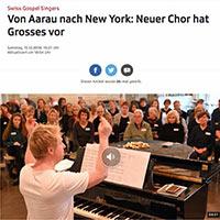 SwissGospelSingers SRF Regionaljournal